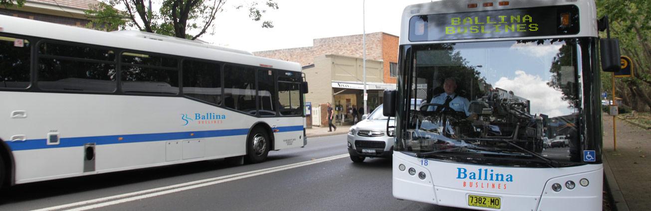 Ballina Buslines bus